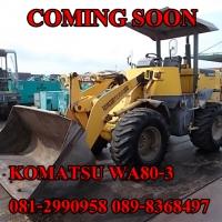 KOMATSU WA80-3