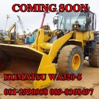 KOMATSU WA320-5