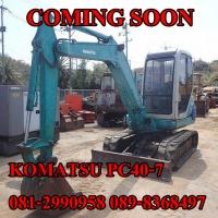 KOMATSU PC40-7