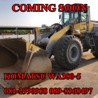 KOMATSU WA380-5