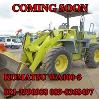 KOMATSU WA100-3