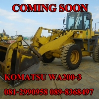 KOMATSU WA200-3
