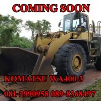 KOMATSU WA400-3