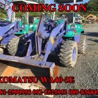 KOMATSU WA40-3E