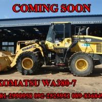 KOMATSU WA380-7
