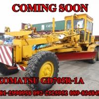 KOMATSU GD705R-1A