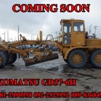 KOMATSU GD37-6H