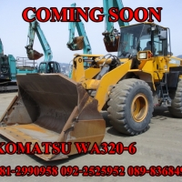 KOMATSU WA320-6